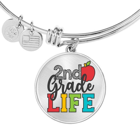Teacher Appreciation Gift - 2nd Grade Life Bracelet