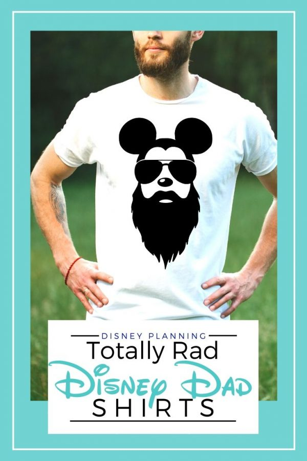 Disney Dad Shirts He'll Actually Wear
