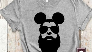 Disney Bearded Man Shirt